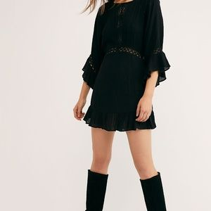 Free People The Emilie Summer Lace Mini Dress